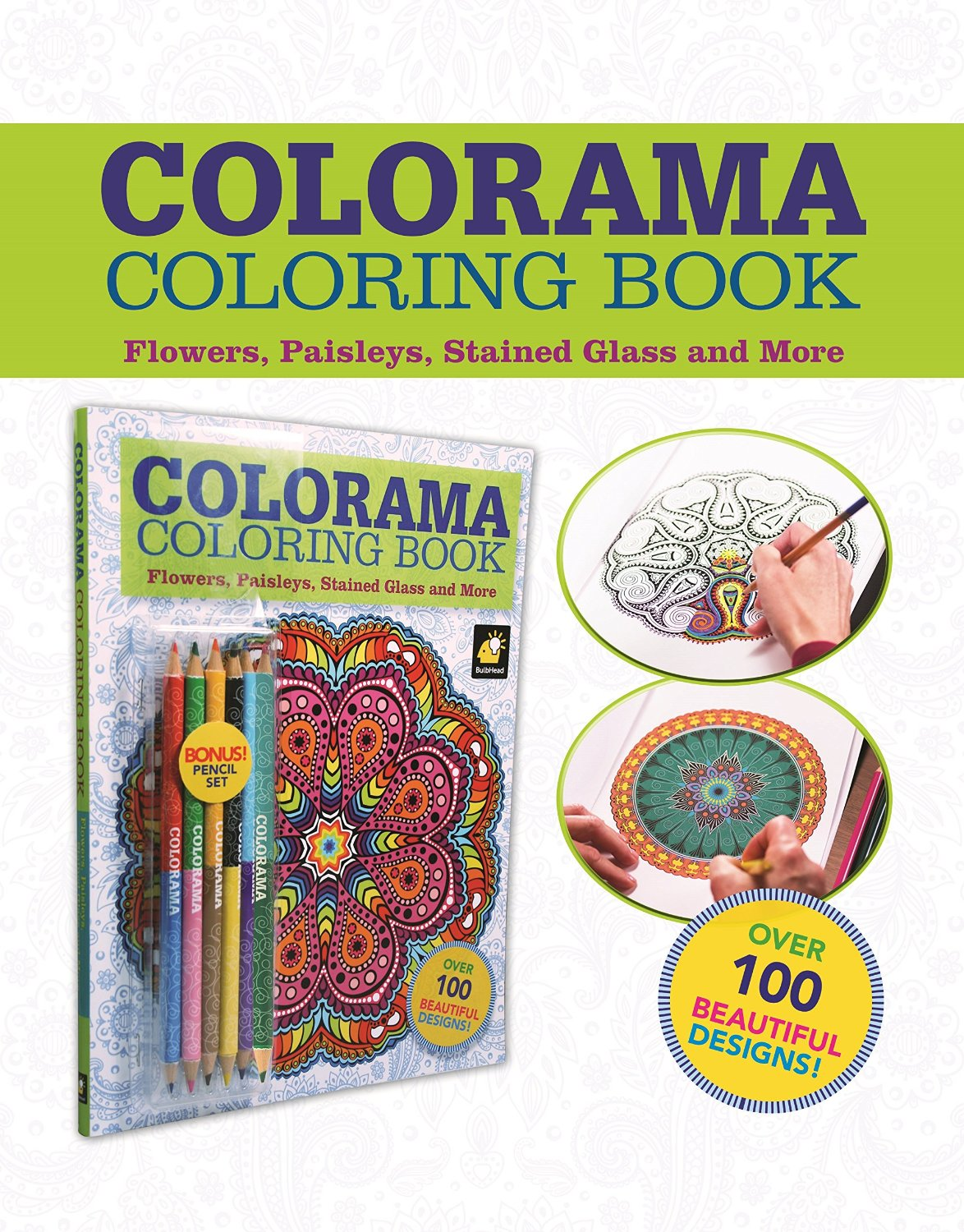 Colorama Adult Coloring Book Review